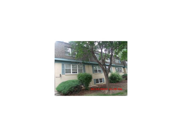 9310 E Girard Avenue #11, Denver, CO 80231 (MLS #7393042) :: 8z Real Estate