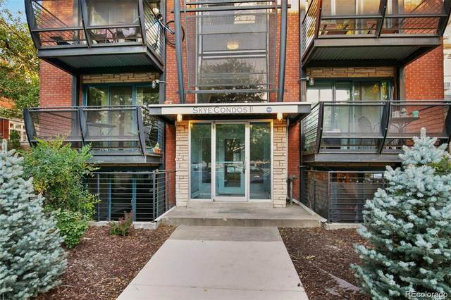 1336 N Logan Street #101, Denver, CO 80203 (MLS #7394053) :: Wheelhouse Realty