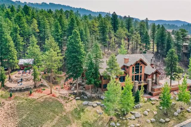 409 Falcons Rest Place, Woodland Park, CO 80863 (#7395759) :: HomeSmart