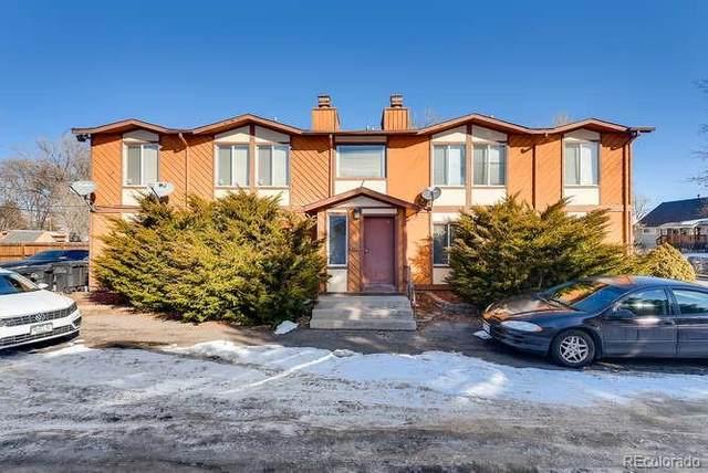 1163 Rosemary Street, Denver, CO 80220 (#7396885) :: Real Estate Professionals