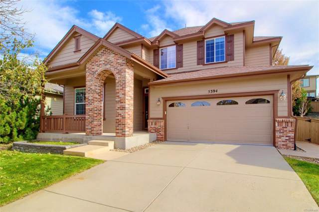 5394 Cloverbrook Circle, Highlands Ranch, CO 80130 (#7399347) :: Keller Williams Action Realty LLC
