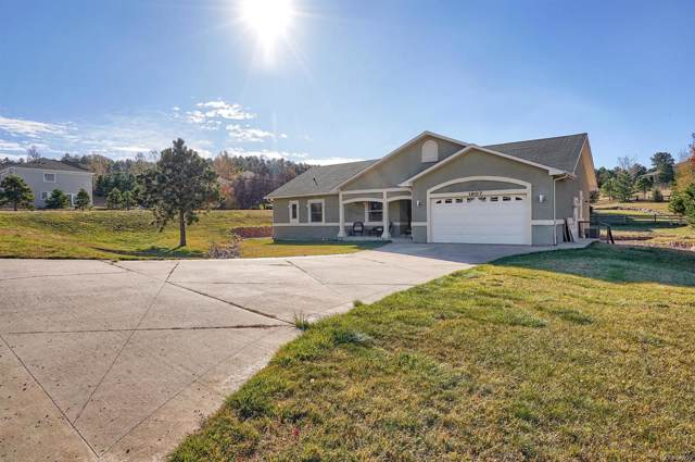 1607 Plowman Drive, Monument, CO 80132 (#7401516) :: The DeGrood Team
