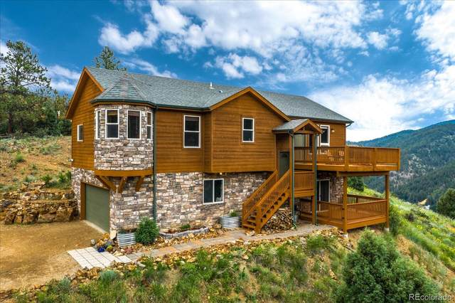378 Black Eagle Road, Idaho Springs, CO 80452 (#7416236) :: Own-Sweethome Team