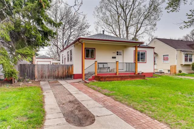 2445 S Gilpin Street, Denver, CO 80210 (#7417404) :: House Hunters Colorado