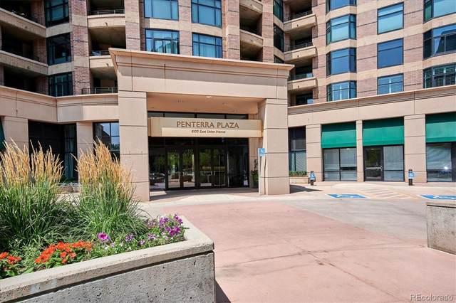 8100 E Union Avenue #1008, Denver, CO 80237 (#7419110) :: The DeGrood Team