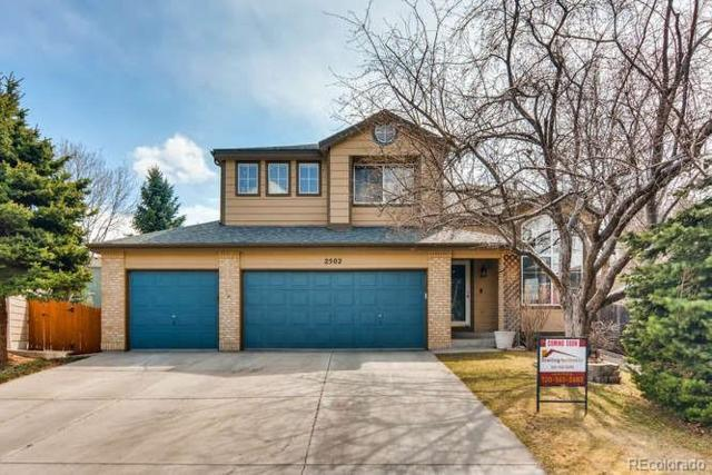 2502 W 108th Place, Westminster, CO 80234 (#7419316) :: The Peak Properties Group