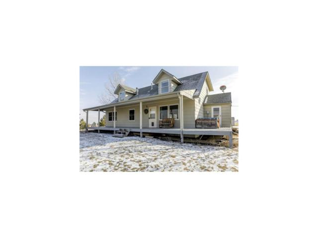 35370 Cherokee Trail, Elizabeth, CO 80107 (MLS #7424859) :: 8z Real Estate