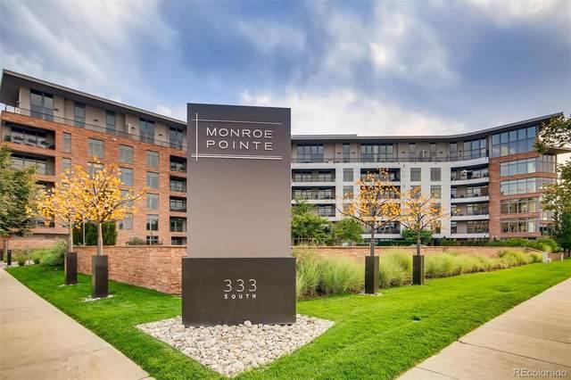 333 S Monroe Street #411, Denver, CO 80209 (#7426362) :: milehimodern