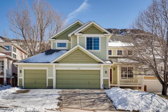 1231 Mesa Court, Golden, CO 80403 (#7427293) :: The Peak Properties Group