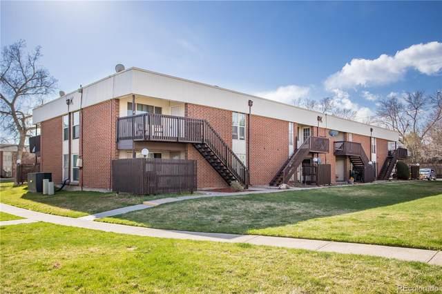 3663 S Sheridan Boulevard K16, Denver, CO 80235 (#7427994) :: Venterra Real Estate LLC