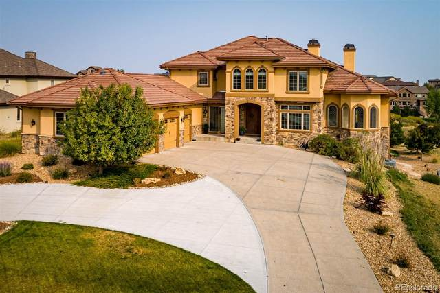 5363 Sedona Drive, Parker, CO 80134 (#7432566) :: Venterra Real Estate LLC