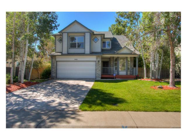 848 E 133rd Avenue, Thornton, CO 80241 (MLS #7434874) :: 8z Real Estate