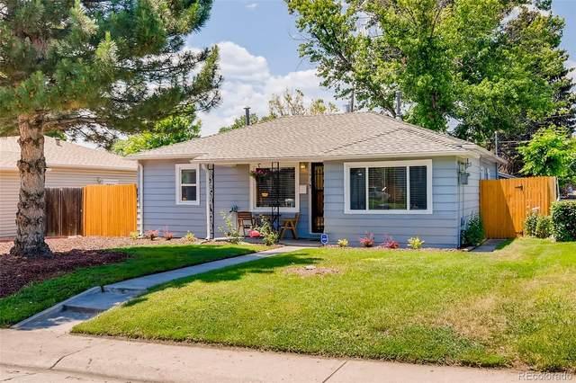 1431 S Birch Street, Denver, CO 80222 (#7435342) :: Finch & Gable Real Estate Co.