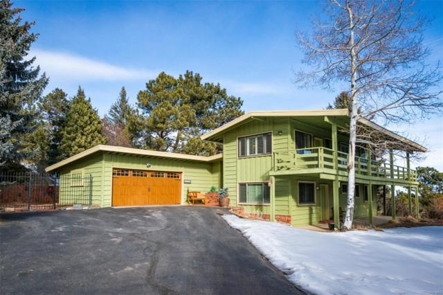 2876 Hiwan Drive, Evergreen, CO 80439 (#7435492) :: The City and Mountains Group
