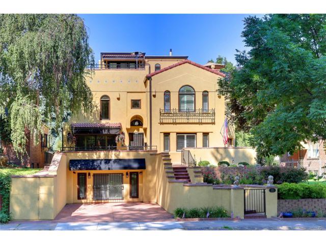525 S Downing Street, Denver, CO 80209 (MLS #7436637) :: 8z Real Estate