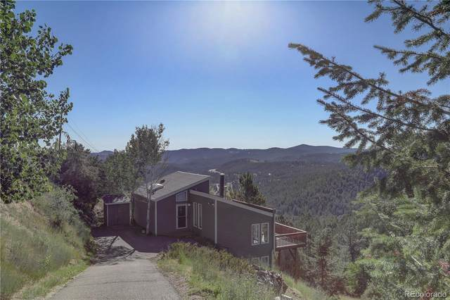 1364 Hyland Drive, Evergreen, CO 80439 (#7437372) :: The Margolis Team