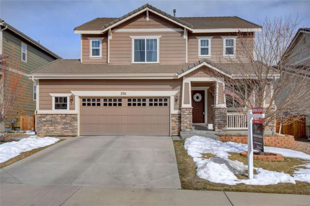 2741 Deerfoot Way, Castle Rock, CO 80109 (#7445290) :: The HomeSmiths Team - Keller Williams