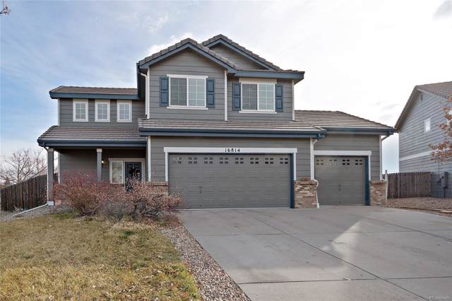 16814 E Hollow Horn Avenue, Parker, CO 80134 (#7445312) :: Compass Colorado Realty