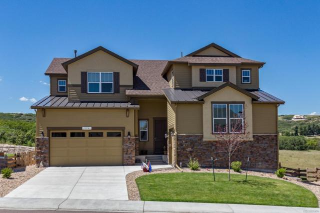 554 Sage Grouse Circle, Castle Rock, CO 80109 (MLS #7446544) :: 8z Real Estate