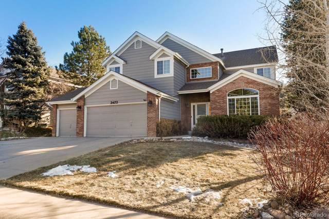 2472 W Sunset Drive, Littleton, CO 80120 (#7447733) :: Bring Home Denver with Keller Williams Downtown Realty LLC