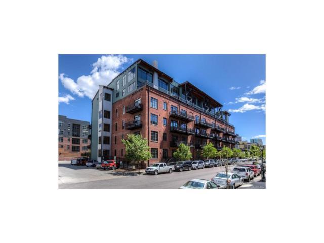 2960 Inca Street #407, Denver, CO 80202 (#7448220) :: The Peak Properties Group