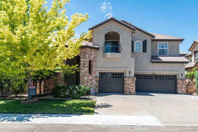 4911 Montvale Drive, Highlands Ranch, CO 80130 (#7450476) :: The DeGrood Team