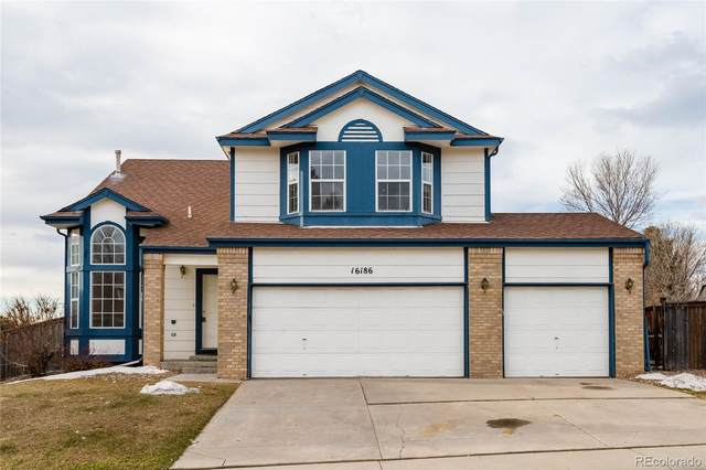 16186 Sequoia Drive, Parker, CO 80134 (#7450924) :: My Home Team