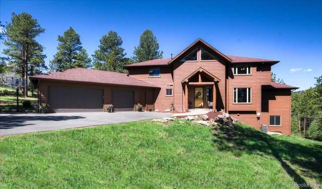 7291 S Homesteader Drive, Morrison, CO 80465 (#7456399) :: Portenga Properties