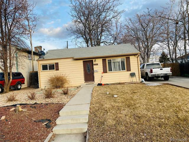 1354 S Raritan Street, Denver, CO 80223 (MLS #7457272) :: Kittle Real Estate