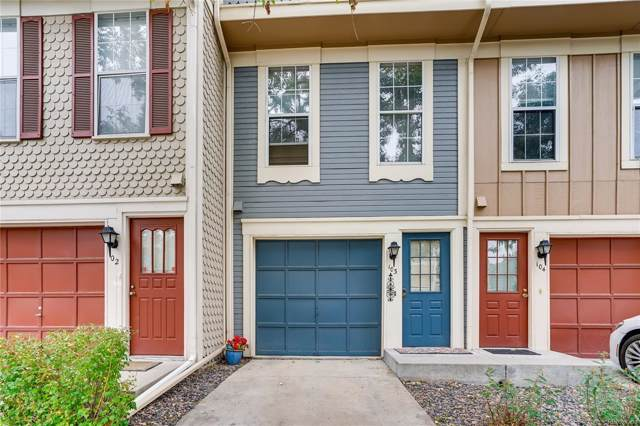 1699 S Trenton Street #103, Denver, CO 80231 (#7457335) :: James Crocker Team