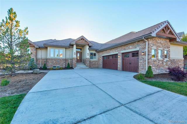 5561 Rim View Place, Parker, CO 80134 (#7457418) :: The DeGrood Team