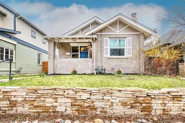1115 Madison Street, Denver, CO 80206 (#7457554) :: My Home Team