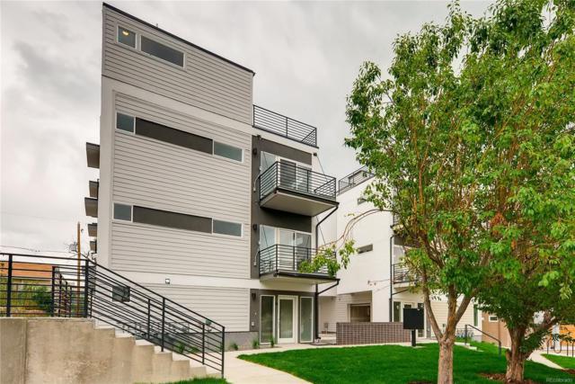1274 Quitman Street #4, Denver, CO 80204 (#7463255) :: The Griffith Home Team