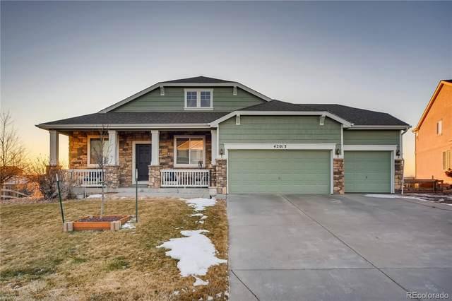 42013 Big Horn Circle, Elizabeth, CO 80107 (#7463856) :: iHomes Colorado