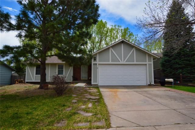 223 Saddlemountain Road, Colorado Springs, CO 80919 (#7470746) :: House Hunters Colorado