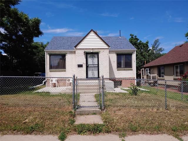 215 S Knox Court, Denver, CO 80219 (MLS #7471324) :: 8z Real Estate