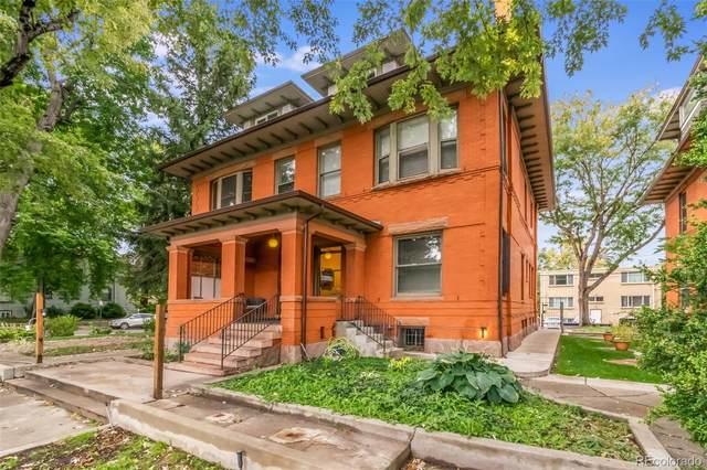 1401 N Franklin Street #5, Denver, CO 80218 (MLS #7483106) :: Re/Max Alliance