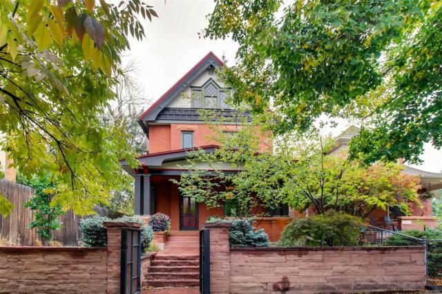 1658 N High Street, Denver, CO 80218 (#7484212) :: The Heyl Group at Keller Williams