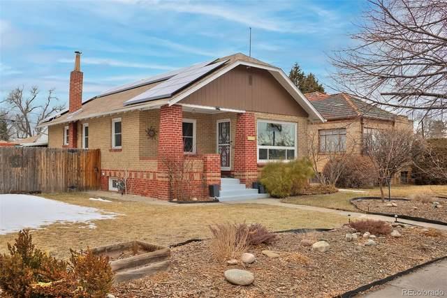 1463 Dahlia Street, Denver, CO 80220 (#7485323) :: The Griffith Home Team