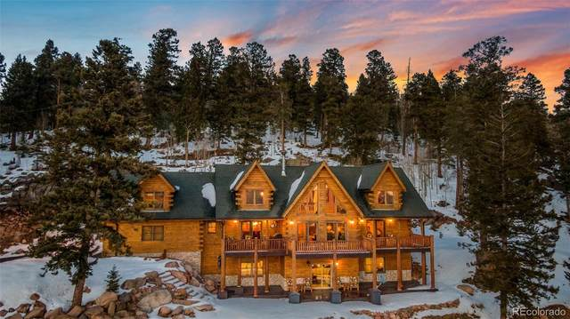 11450 Marks Drive, Conifer, CO 80433 (#7487343) :: Finch & Gable Real Estate Co.