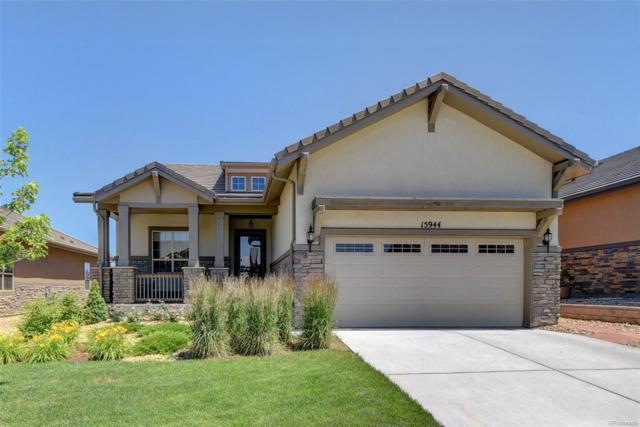 15944 Wild Horse Drive, Broomfield, CO 80023 (#7487396) :: Mile High Luxury Real Estate