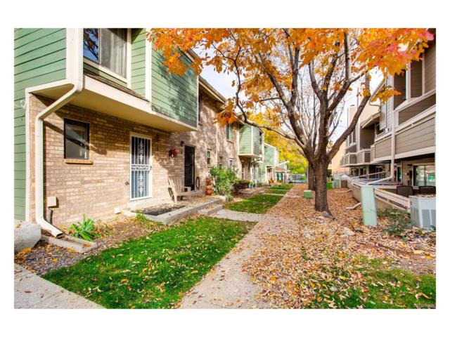 8761 W Cornell Avenue #5, Lakewood, CO 80227 (#7491565) :: ParkSide Realty & Management