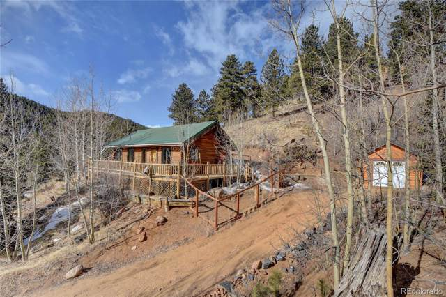 7414 County Road 43, Bailey, CO 80421 (MLS #7492159) :: 8z Real Estate