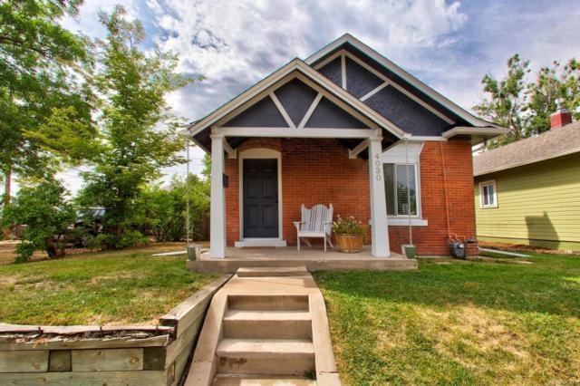 4030 W 49th Avenue, Denver, CO 80212 (#7492189) :: The Peak Properties Group