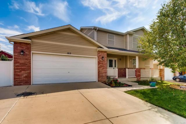 165 Buckeye Avenue, Johnstown, CO 80534 (#7494067) :: The Peak Properties Group