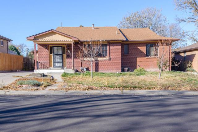 2049 S Winona Court, Denver, CO 80219 (#7500227) :: HomePopper