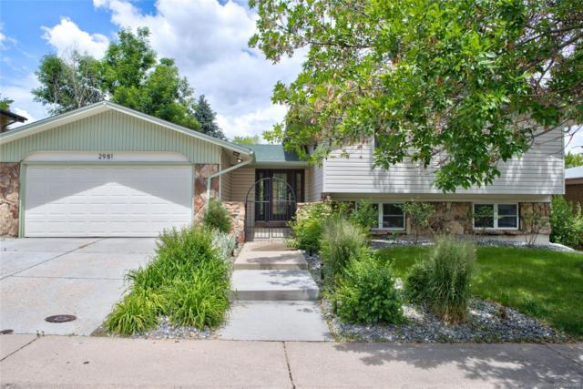 2981 S Whiting Way, Denver, CO 80231 (#7502811) :: The Galo Garrido Group