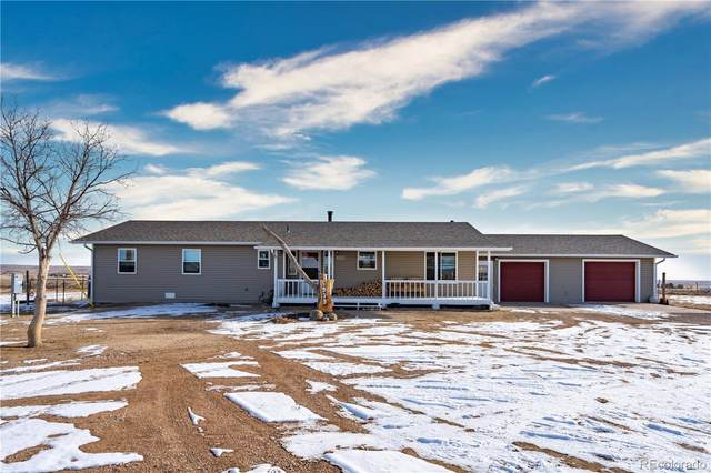 5939 N Log Road, Calhan, CO 80808 (#7504002) :: The Griffith Home Team