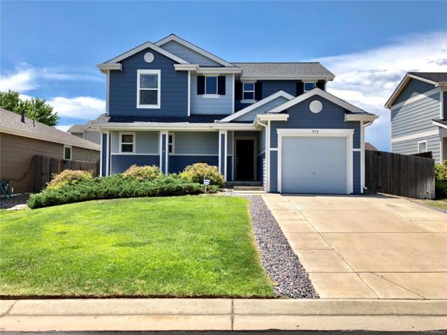 773 Willow Drive, Lochbuie, CO 80603 (#7505750) :: The Griffith Home Team