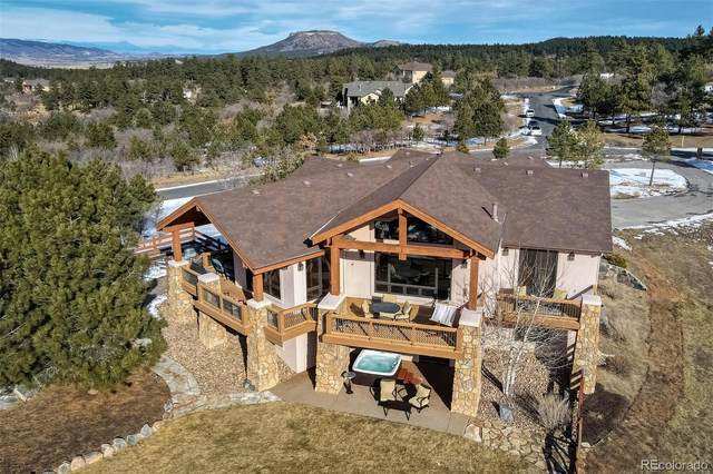 1940 Quartz Mountain Drive, Larkspur, CO 80118 (#7512466) :: The Scott Futa Home Team